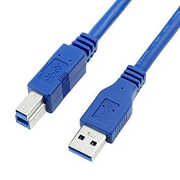Cable de Impresora (3 m, USB 3.0, Conector A Macho a ...