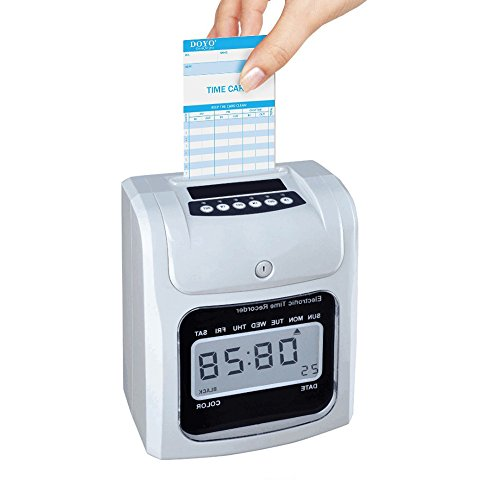 natamo time cards monthly 2 sided blue positive orange negative - Time Card Machine
