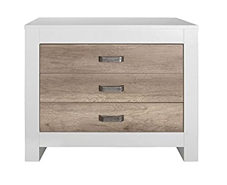 Amazon.com: kidsmill Costa Dresser en color blanco/Old ...