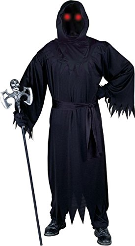 Fun World Men's Morris Costumes Fade in/Out Unknown Phantom-Pb, Black, One (Fade In Fade Out Phantom Costume)