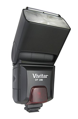 Vivitar DF-293-CAN TTL LCD Bounce Zoom Swivel DSLR AF Flash for Canon