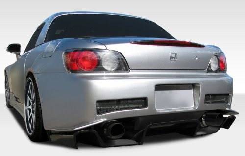 Duraflex Replacement for 2000-2009 Honda S2000 SP-N Rear Diffuser - 1 Piece