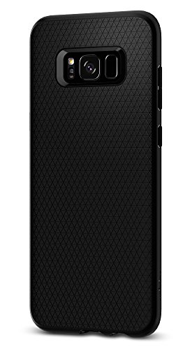 Spigen Liquid Air Armor Galaxy S8 Plus Case with Durable Flex and Easy Grip Design for Galaxy S8 Plus (2017) - Black