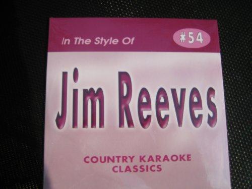 Price comparison product image Country Karaoke Classics CDG All Hits of JIM REEVES