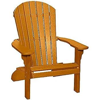 Terrific Poly Fan Back Adirondack Chair Cedar Download Free Architecture Designs Embacsunscenecom