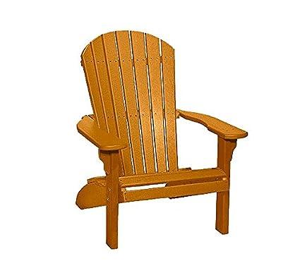 Enjoyable Poly Fan Back Adirondack Chair Cedar Download Free Architecture Designs Embacsunscenecom