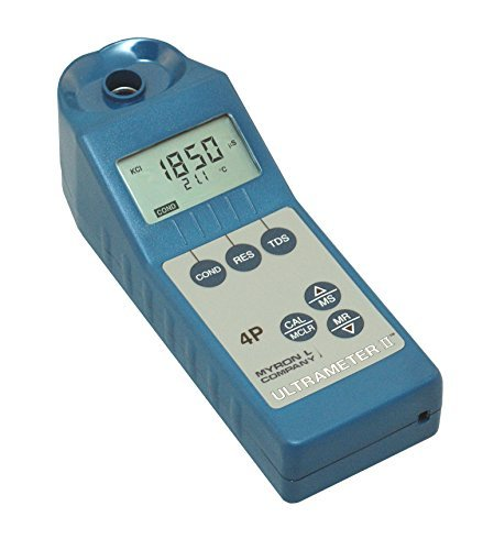 Myron L 4PII Conductivity, Resistivity, TDS, Temperature Meter by Myron L
