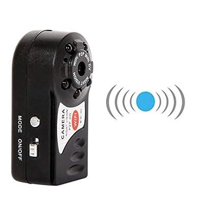Halffle Mini Wireless Surveillance Camera, HD WiFi Camera Wireless Intelligent Network Surveillance Camera Security 2.2 x 0.9 x 0.7inch