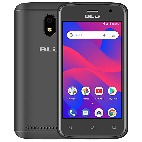 BLU Advance A4 -Unlocked Dual Sim Smartphone -Black (Touch Screen Games For 2 Year Olds)