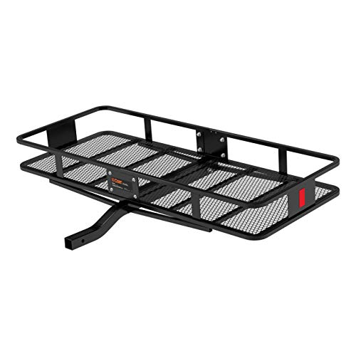 CURT 18152 500 lbs. Capacity Basket Trailer Hitch Cargo Carrier, Fits 2-Inch Receiver
