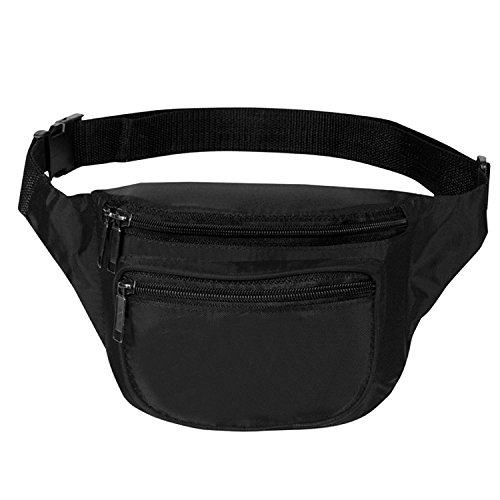 Wholesale Designer Handbag - Fanny Pack, BuyAgain Quick Release Buckle Travel Sport Waist Fanny Pack Bag