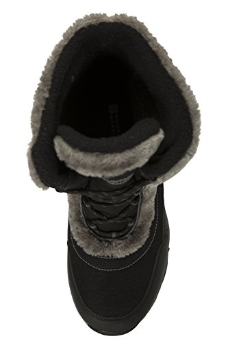 Ohio e e Stivali Neve Invernali Warehouse Doposci Ideali Impermeabili da Caldi Nero Mountain per Donna xgXZ1f
