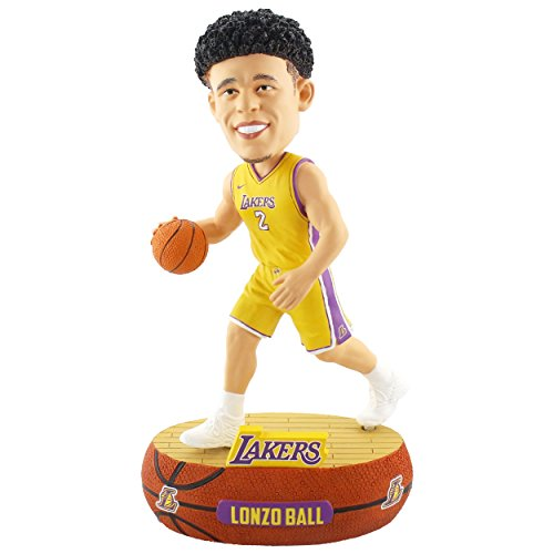 Forever Collectibles Lonzo Ball Los Angeles Lakers Baller Special Edition Bobblehead