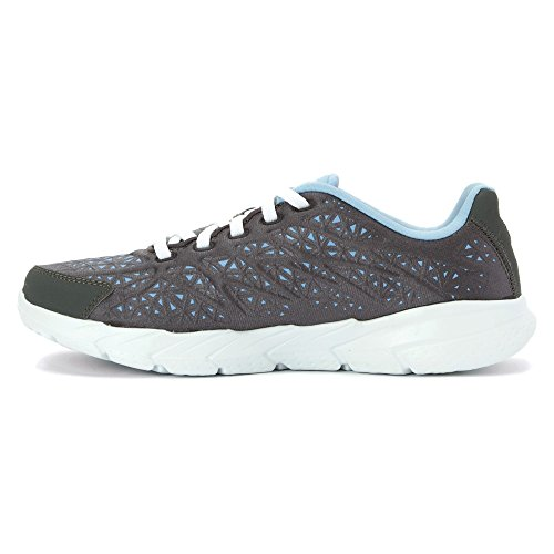 Skechers Mujeres Charcoal & Light Azul GoFit 2 Zapatillas ND