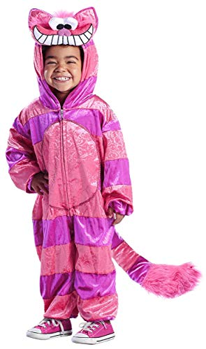 Cheshire Cat Jumpsuit Toddler Costume - Baby 6-12 -