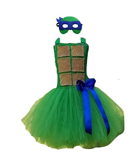 Fighting Turtle Tutu Dress from Chunks of Charm (3T)]()