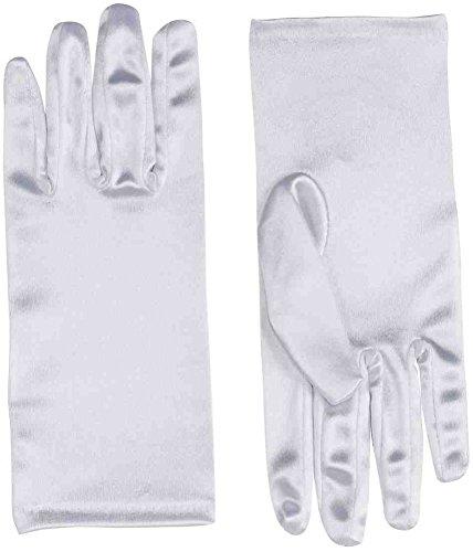Forum Novelties White Satin Gloves 9