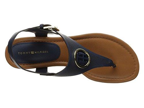 Tommy Hilfiger Women's Kandess Dress Sandal, Navy, 7.5 M US