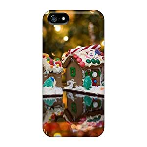 Excellent Iphone 5/5s Case Tpu Cover Back Skin Protector Delicious Christmas Sweets