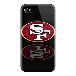 KevinCormack Iphone 4/4s Shock-Absorbing Hard Phone Covers Unique Design Vivid San Francisco 49ers Series [NWB11982uBTd]