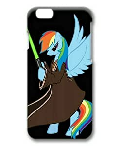 5 5s Case, My Little Pony Rainbow Dash 05 Slim Fit Case for iphone 5 5s 3D PC Material