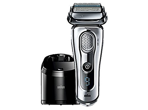 Braun Series 9-9095cc Wet and Dry Foil Shaver for Men with Cleaning Center, Electric Men's Razor, Razors, Shavers, Cordless Shaving System by Braun