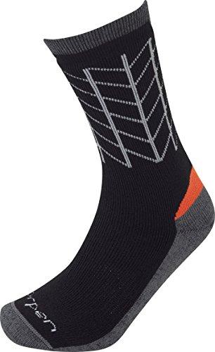 Lorpen Men's T2 Midweight Hiker Socks, Black, -