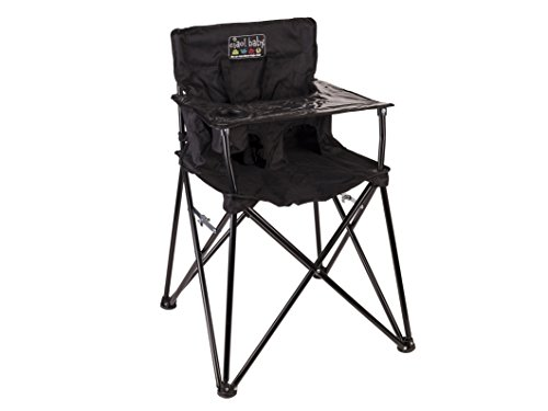 ciao! Baby Portable High Chair, Black, (Chair High Portable)