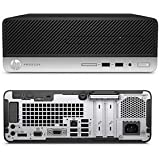 HP Prodesk 400 G5 SF/CT 2ZX70AV-AKCA ビジネス向けスペック・機能を備えた省スペースデスクトップ Microsoft Office Personal2016搭載/Windows10 Pro 64bit/Corei5-8500/4GB/500GB/DVDライター (Core i5/4GB)