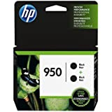 HP 950 Black Original Ink Cartridges, 2 pack (L0S28AN)