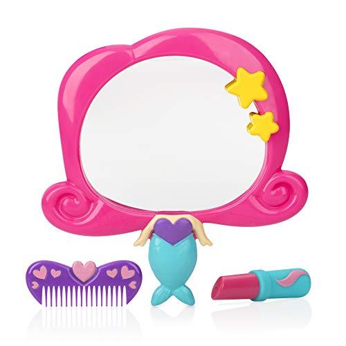 Nuby Mermaid Mirror Bath Toy Set, 3 Yrs+, 3pc, Multi-Colored, -