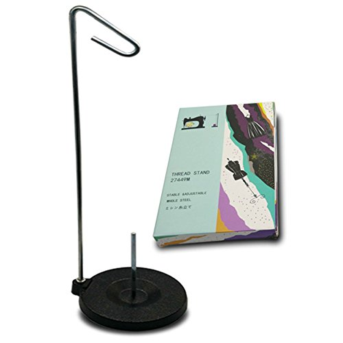 Tosnail Universal Cone and Spool Stand Thread Holder with Sturdy Metal Base ()