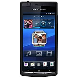 Amzer Silicone Skin Jelly Case for Sony Ericsson Xperia arc - 1 Pack - Black