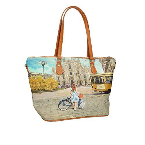 Shopper Ynot Stampa L Milano 396 Donna fqwqUEx4Ra