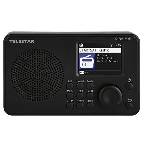Telestar DIRA M 6i hybride radio (internetradio, USB-muziekspeler, compacte multifunctionele radio, DAB+/FM RDS, WiFi…