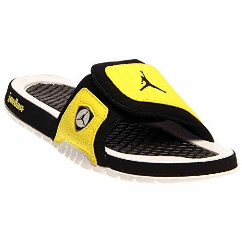 ec7276f2da86 Galleon - Jordan Nike Men s Hydro XIV Retro Black Black Vibrant Yellow Wht  Sandal 11 Men US