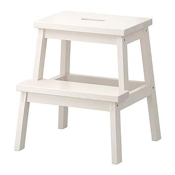 Ikea Bekvam Home Indoor Solidwood Step Stool White