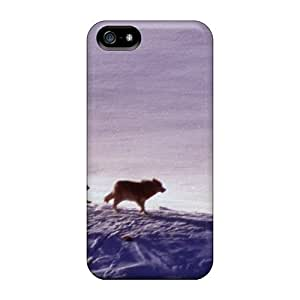 Tpu Mialisabblake Shockproof Scratcheproof Lone Hunters Hard Case Cover For Iphone 5/5s