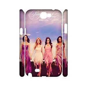 Unique Design Protective Hard 3D Plastic Case for Samsung Galaxy Note 2 N7100 - Pretty Little Liars cheap 3D case at CHXTT-C