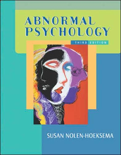 Abnormal Psychology w/ MindMap CD and PowerWeb