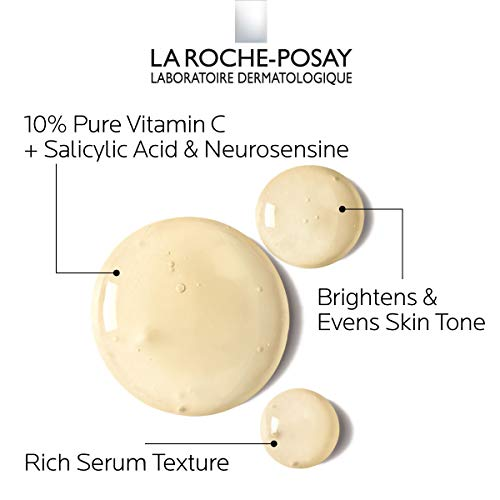 41hWaGw8KVL - La Roche-Posay Pure Vitamin C Face Serum with Salicylic Acid. Anti Aging Face Serum for Wrinkles & Uneven Skin Texture to Visibly Brighten & Smooth. Suitable for Sensitive Skin, 1.0 Fl. Oz.