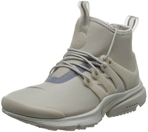 finest selection f8ad5 99f76 Galleon - NIKE Womens Air Presto Mid Utility Hi Top Trainers 859527  Sneakers Shoes (UK 2.5 US 5 EU 35.5, String Reflective Silver 200)