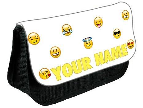 Estuche para lápices con diseño de emoticonos sonrientes ...