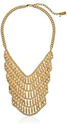 Kenneth Cole New York Bead and Chain Bib Necklace