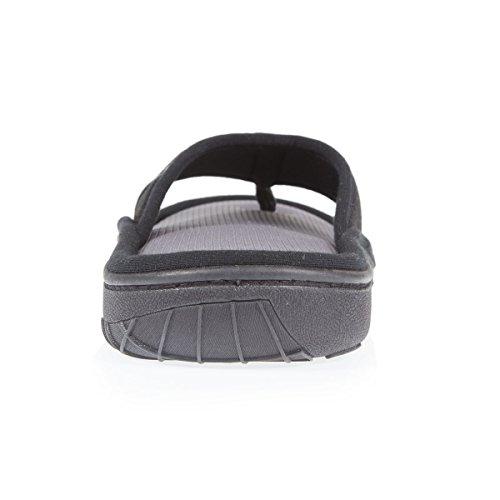 Zapatillas Chancla Hombre Isotoner Negro