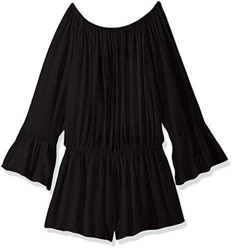 Seafolly Big Girls' Gypsea Water Jumpsuit, Black, 14