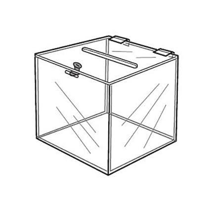 Amazon Com Locking Ballot Box