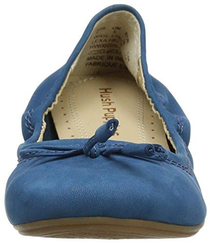Mujer Bailarinas Azul Teal Hush 236 Dark Puppies HW06056 BUnaw1C