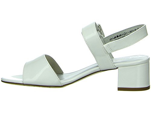 Tamaris1-1-28211-28 - Plataforma Mujer Weiß