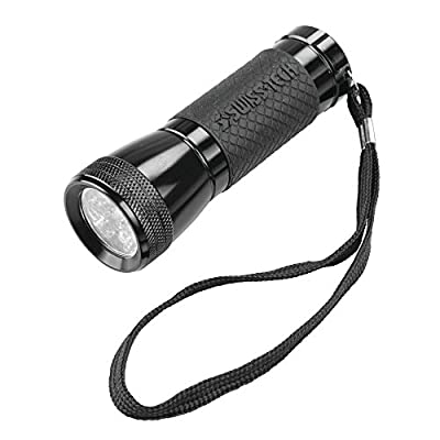 Swiss+Tech ST50131 Mini Flashlight, Black